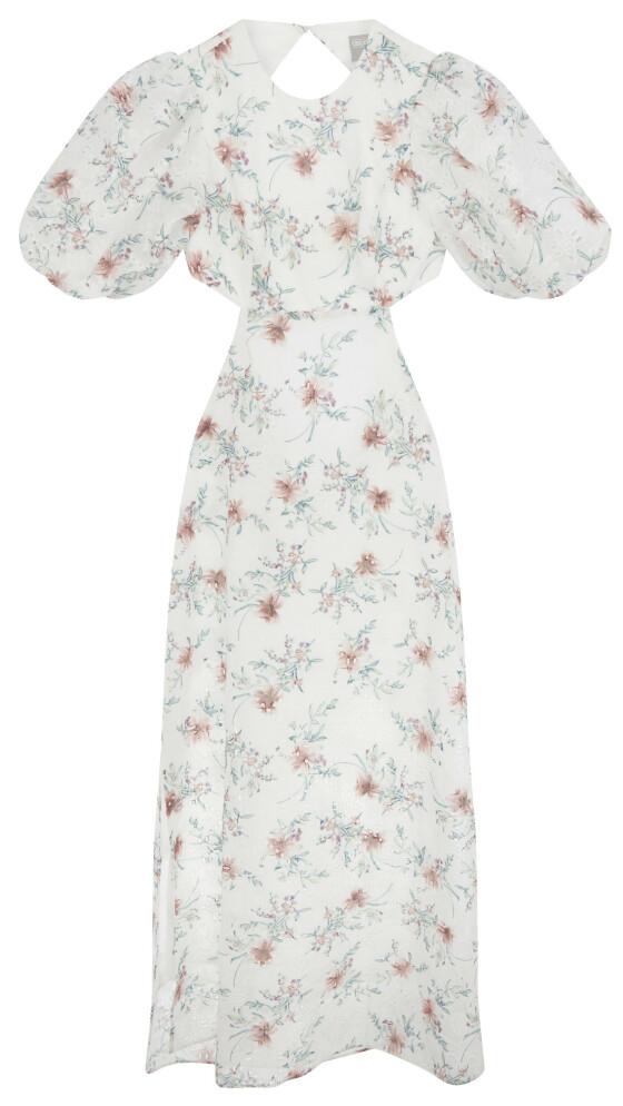 Kjole med puffermer (kr 550, asos.com).