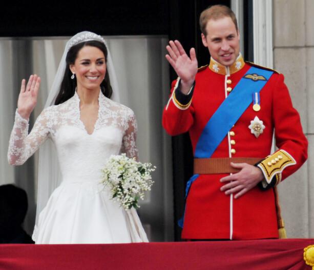 TRONARVING: En dag vil prins William arve tronen, og et nytt liv de færreste av oss kan sammenligne starter for han og Kate. Foto: NTB Scanpix