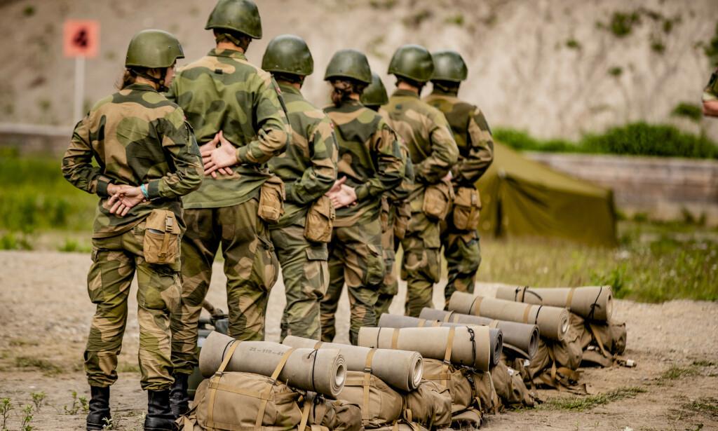 LOVBRUDD: Forsvaret erkjenner å ha brutt anskaffelsesloven. Foto: Stian Lysberg Solum / NTB Scanpix