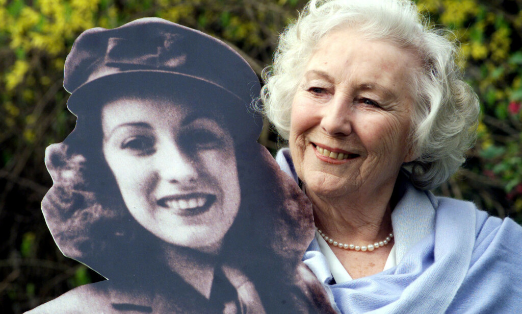 DØD: Sangeren Vera Lynn er død, 103 år gammel. Foto: NTB Scanpix