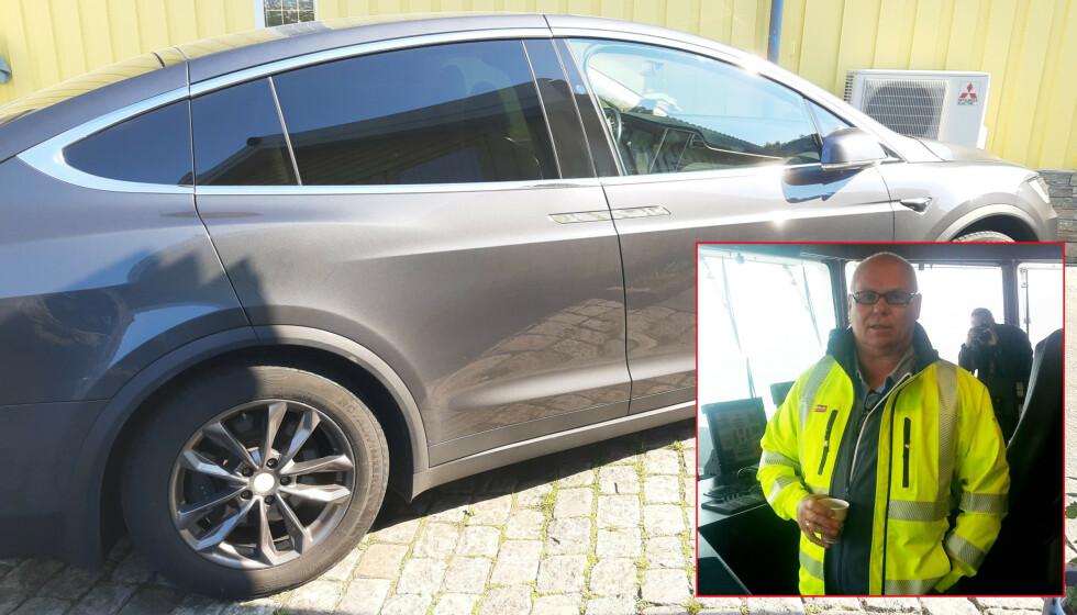 Carl Fredrik Aarø har ventet så lenge på felgene Tesla skylder ham, at han til slutt ikke så noen annen utvei enn å betale selv. Foto: Privat.