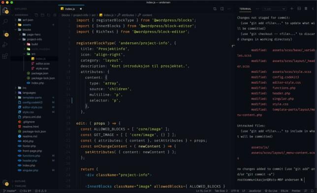 """Astrid Mathilde Andersen: """"Bytta nylig til VS Code etter å ha brukt Sublime Text i over ett år. Nå bruker jeg en modifisert versjon av Ayu Dark Bordered (takk til kjæresten min), med skrifttypen Fira Code."""""""