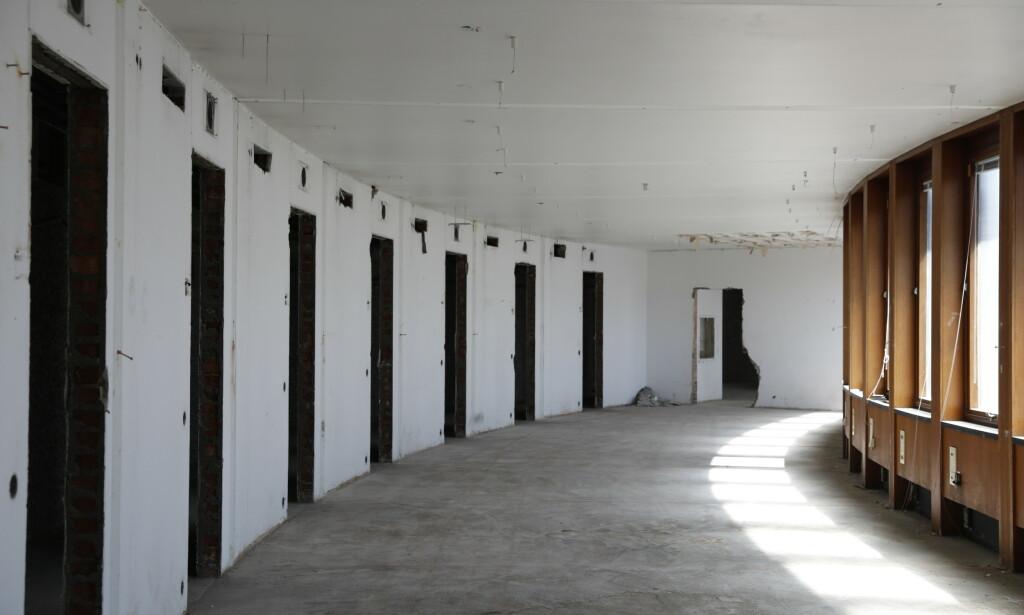 TOMT: Mye av interiør og møbler er flyttet og gjenbrukes andre steder. Foto: Nina Hansen / Dagbladet