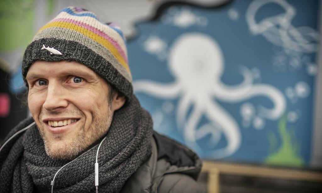 TV-FJES: Kim Kolstad ble kjent som hele Norges Jens August gjennom «Hotel Cæsar». I dag er han fiskehandler. Foto: Hans Arne Vedlog / Dagbladet