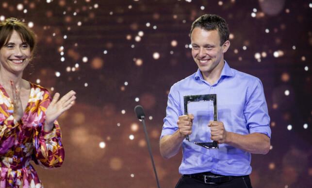 JAKTEN: Andreas Bolset vant pris for årets deltaker. Foto: NTB Scanpix