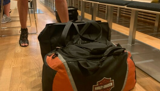BAG: Ragna Lise Vikre kom med Eirik Jensens bag. Foto: Trym Mogen / Dagbladet