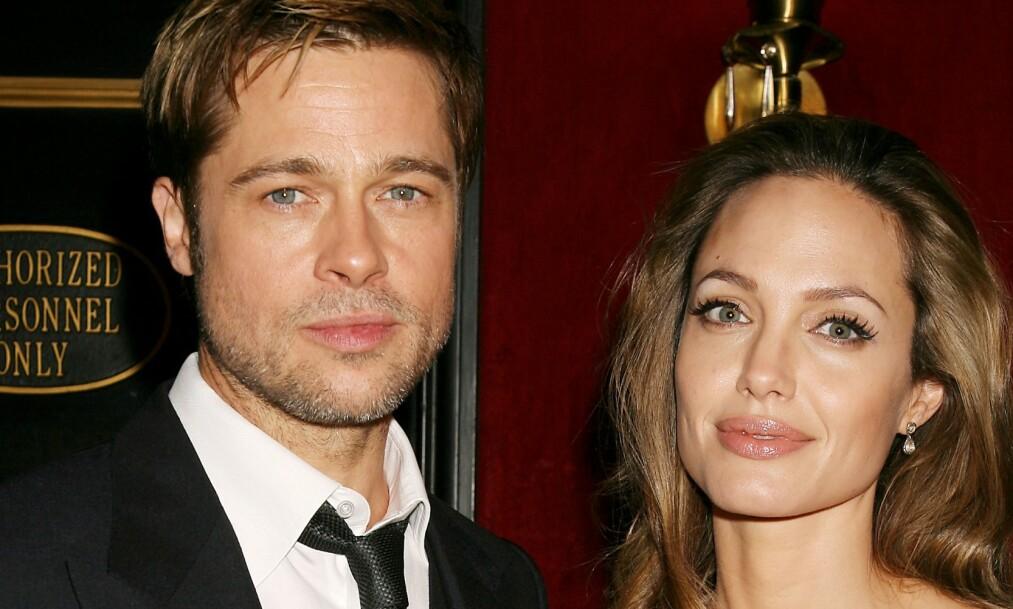 AVSLØRER: Frem til nå har det ikke vært bekreftet hvorfor det ble slutt mellom Brad Pitt og Angelina Jolie. Nå kan imidlertid sistnevnte avsløre grunnen. Foto: NTB Scanpix