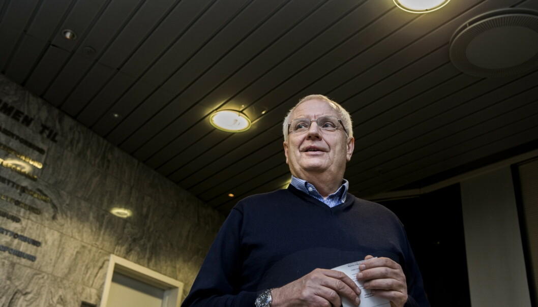 HAR GÅTT BORT: Svein Arne Hansen. Foto: Berit Roald / NTB scanpix