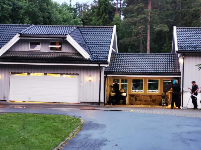 OFFER: Et av ofrene sier til Agderposten at siktede ble bedt om å forlate stedet før skytingen fant sted. Foto: Tipser/NTB scanpix