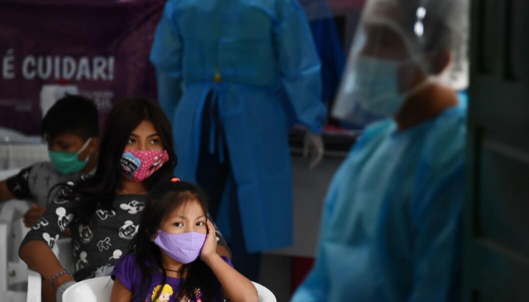 FORSTERKER ULIKHETER: Når pandemien inntar den tredje verden synliggjøres og forsterkes globale ulikheter og urettferdighet Foto: EVARISTO SA / AFP / NTB Scanpix)