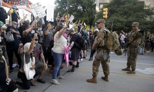 image: Politiet grep inn etter Trumps velgermøte