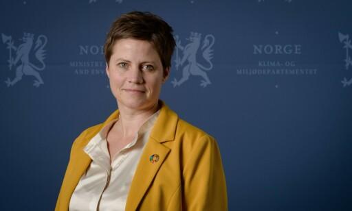 VARSLET: Statssekretær Maren Hersleth Holsen sier at Klima- og miljødepartementet. FOTO: Bjørn H. Stuedal