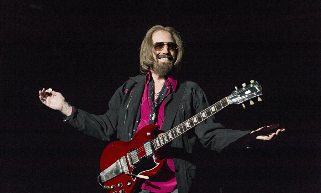 TOM PETTY: Låten til Tom Petty ble spilt under Donald Trumps velgermøte lørdag kveld. Amy Harris / AP / NTB Scanpix