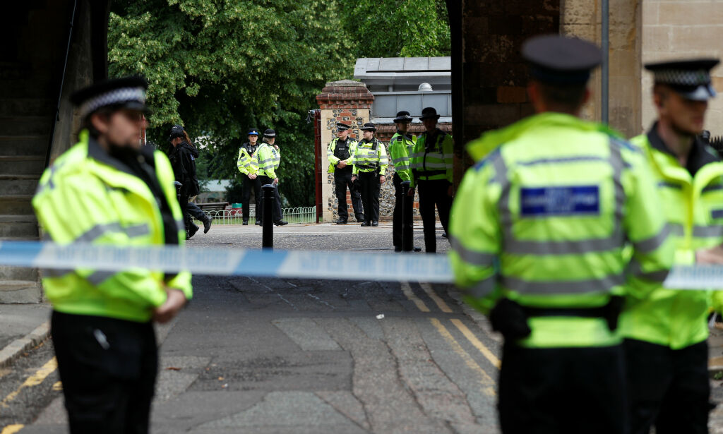 image: Britisk politi om trippeldrapet