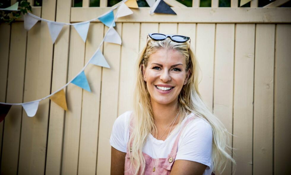 HURRA: TV-profil Mari Haugersveen kunne forrige måned avsløre at hun var gravid. Nå har hun også giftet seg. Foto: Christian Roth Christensen / Dagbladet