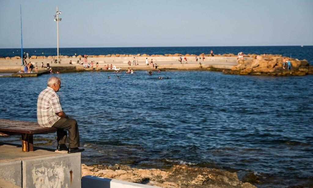 FÅ TURISTER: Selv om landet nå har åpnet opp igjen grensene, er Torrevieja fortsatt særs rolig til å være juni måned. Foto: Embla Hjort-Larsen/ Dagbladet