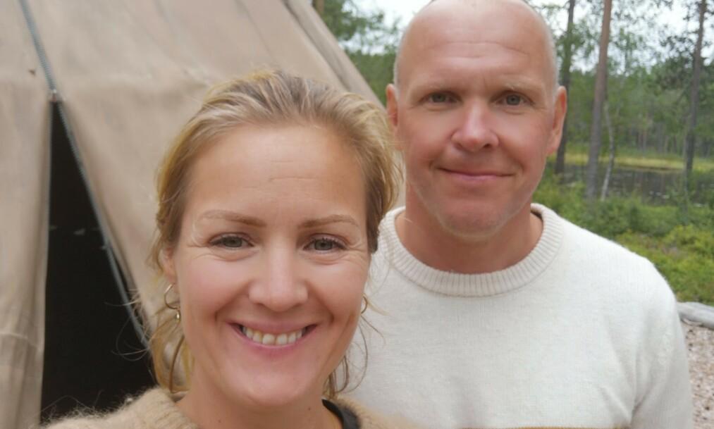 GIFT: Siri Kristiansen og Espen Bjurstedt er nå offisielt gift. Det er imidlertid kun det formelle som er på plass, før bryllupet finner sted senere i sommer. Foto: Privat