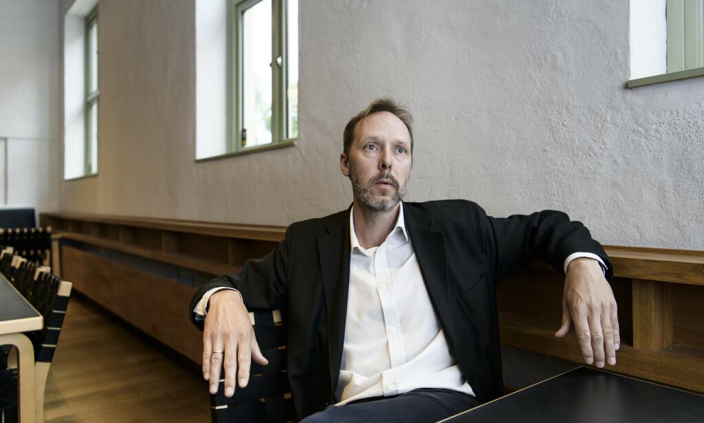 PERSONLIG: Gaute Heivolls nye roman er basert på oppveksten og ungdomsåra til faren hans. Foto: Lars Eivind Bones / Dagbladet