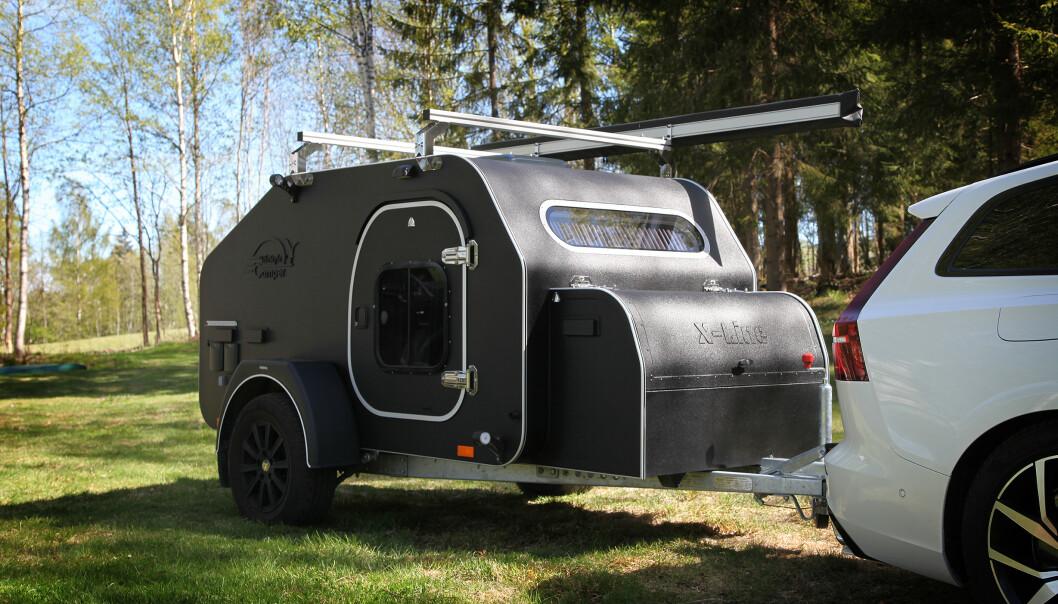 <strong>KOSTBAR:</strong> Mini-campingvogna er både dyrest og mest luksuriøs i testen. Foto: NAF
