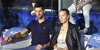image: Djokovic og kona smittet av corona