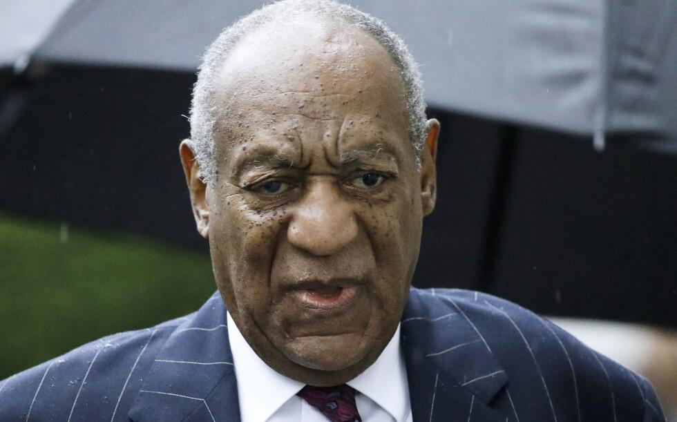 AKSEPTERER ANKE: Tirsdag ble det kjent at høyesterett i Pennsylvania har akseptert dømte Bill Cosbys anke. Foto: NTB Scanpix