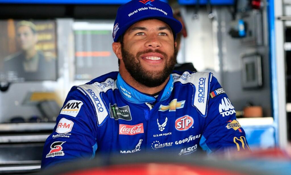 NASCAR: Bubba Wallace avbildet i mai i fjor. Foto: Getty / AFP / NTB Scanpix