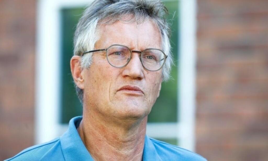 TEGNELL: Sveriges statsepidemiolog Anders Tegnell tar selvkritikk for måten Sverige har håndtert coronakrisa. Foto: Magnus Andersson / Tt News Agency / Reuters / NTB Scanpix