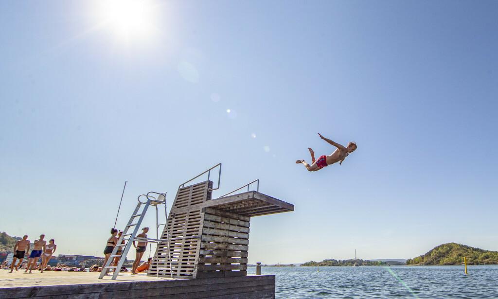 FINN FRAM SOLKREMEN: Nå blir det varmt. Foto: Fredrik Hagen / NTB scanpix
