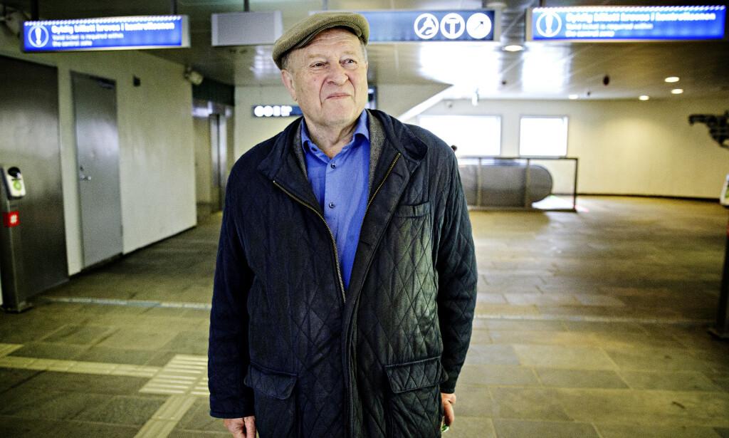 KLAR TALE: Odd Einar Dørum mener Venstre må bruke rommet i midten av norsk politikk og søke gjennomslag begge veier. Foto: Nina Hansen