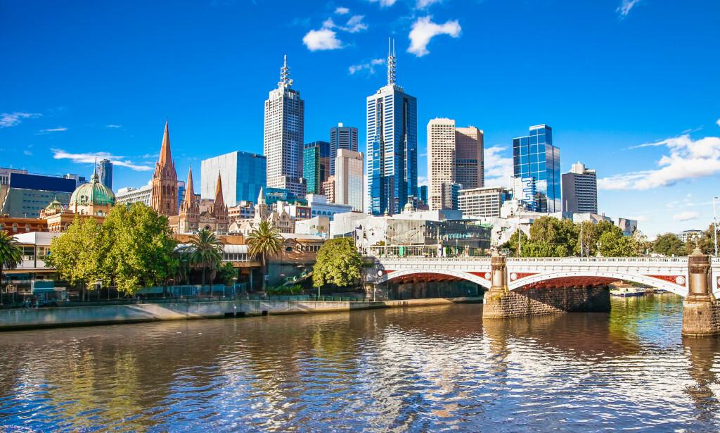 NYTT UTBRUDD: Den siste tiden er det registrert en rekke nye tilfeller av coronasmitte i storbyen Melbourne. Foto: Shutterstock / NTB Scanpix