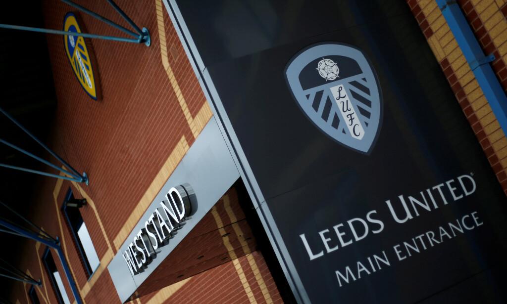 GIKK PÅ EN SMELL: Leeds har beklaget etter at et bilde med Osama Bin Laden dukket opp på stadion. Foto: Action Images/Ed Sykes /NTB Scanpix