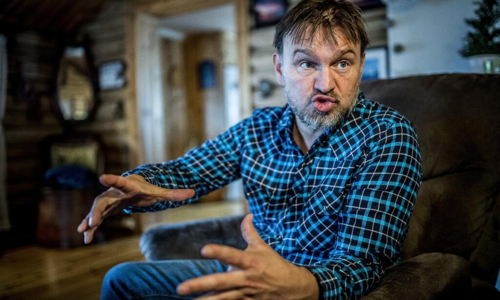 BRÅK: Halvor Sveen la i mars ut et innlegg på Facebook der han gikk hardt ut mot et tv-program og en navngitt person. Nå vil fornærmede ha erstatning. Foto: Thomas Rasmus Skaug / Dagbladet