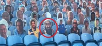 Plutselig var det et kjent ansikt på stadion