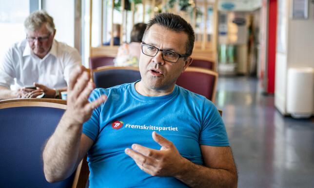 SUKSESS: Fylkesleder Frank Sve langer ut mot Frp i andre deler av landet som har ensidig negativt fokus på innvandring i stedet for å kjempe for innbyggerne sine og være positive.    Foto: Hans Arne Vedlog / Dagbladet
