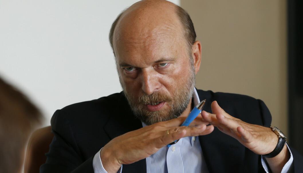STYRTRIK: Sergej Pugatsjov ble omtalt som Putins bankmann, et tilnavn han hadde helt til han havnet i unåde hos presidenten. Foto: NTB scanpix