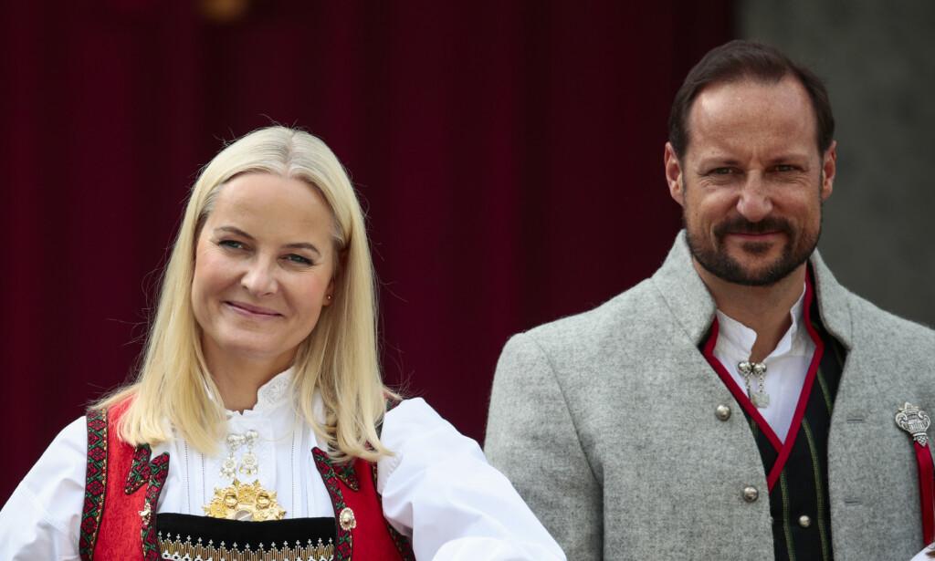 I SORG: Kronprinsparet sier i en uttalelse til Dagbladet at de vil savne Fjeldvær. Foto: Lise serud / NTB scanpix