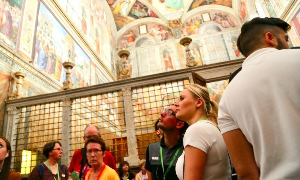 Se opp: Pass godt på verdisakene dine når du besøker Vatikanet. Foto: Odd Roar Lange