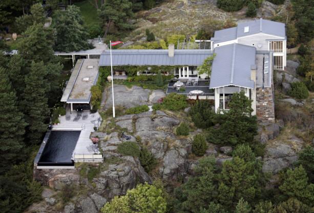 MÅGERØ: På denne hytta skal kongeparet tilbringe store deler av sommerferien. Foto: NTB Scanpix