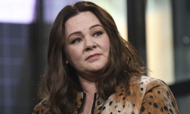 """New York 2018-10-16 Actor Melissa McCarthy participates in the BUILD Speaker Series to discuss the film, """"Can You Ever Forgive Me?"""", at AOL Studios on Tuesday, Oct. 16, 2018, in New York. (Photo by Evan Agostini/Invision/AP) Photo: Evan Agostini / INVISION / TT / kod 10612 ***BETALBILD***"""