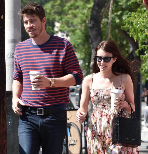 LYKKELIGE: Paret, som har vært sammen siden i mars i fjor, skal være svært lykkelige sammen. Nå venter de barn. Foto: NTB Scanpix