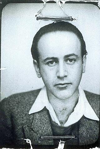 Paul Celan, passfoto fra 1939. Foto: WIKIMEDIA COMMONS