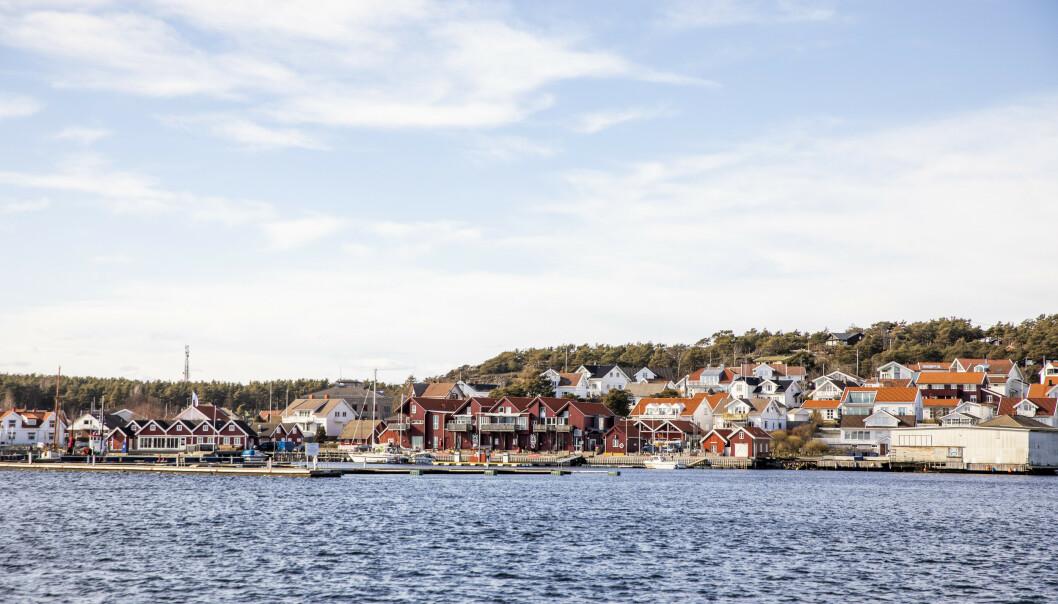 Hvaler, øykommunen som grenser til Fredrikstad, er eneste stedet utenom Sørlandet som dukker opp på mest søkt-lista på Finn.no i sommer. I de gamle østfoldbyene er det god hotellkapasitet. Foto: NTB Scanpix