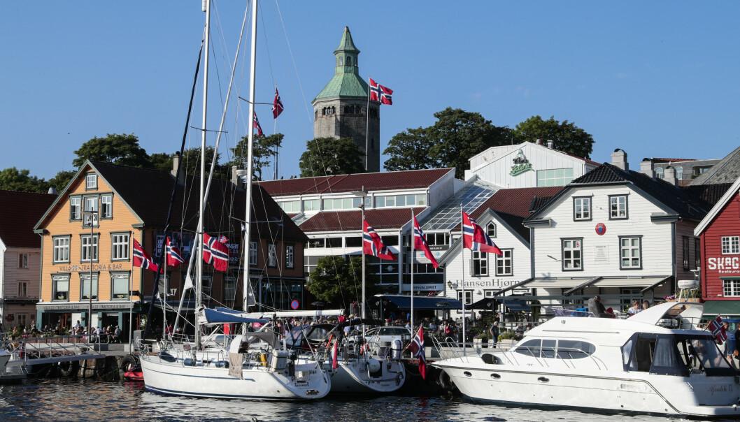 <strong>STAVANGER:</strong> Vågen i Stavanger byr på restauranter, båt- og uteliv. Litt lenger sør finner du sandstrender av internasjonal klasse. Foto: Lise Åserud/NTB Scanpix