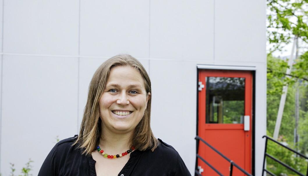 NY ROMAN: Olaug Nilssen har skrevet en ny, politisk roman, som kommer ut i oktober. Foto: Nina Hansen / Dagbladet
