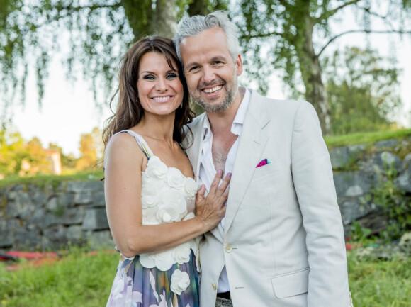 STORT SAVN: Ari Behn ledet Allsang på Grensen med Katrine Moholt i 2015. Savnet har vært stort for programlederen. Foto: Stian Lysberg Solum / NTB scanpix