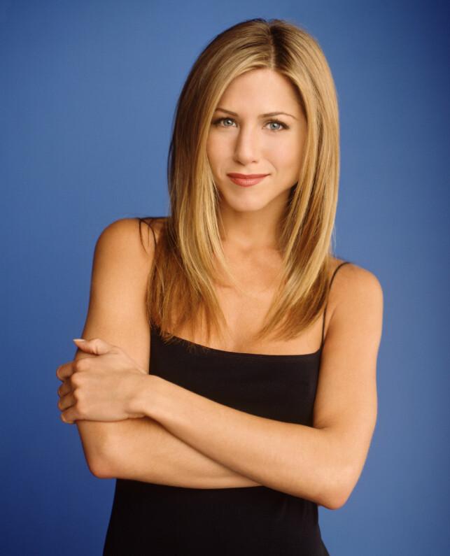 SAMMENLIGNES: Jennifer Aniston sammenlignes den dag i dag med karakteren Rachel Green. Foto: NTB scanpix