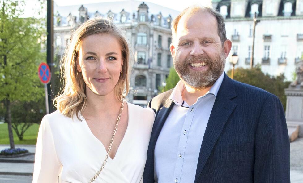 BLIR TOBARNSFORELDRE: Charlotte Smith og Truls Svendsen avslører fredag at de venter sitt andre barn sammen. Foto: Andreas Fadum