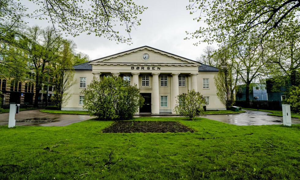 NEDGANG: Oslo Børs falt fire av fem handelsdager denne uka. Foto: Stian Lysberg Solum / NTB Scanpix