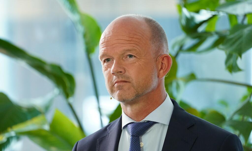 TILBYR NULL: NHO-direktør Ole Erik Almlid mener det ikke er rom for noen lønnstillegg under årets lønnsoppgjør. Foto: Ole Berg-Rusten / NTB Scanpix