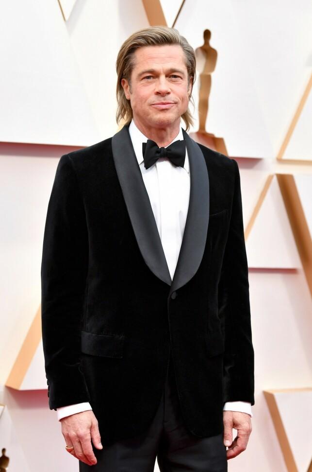 AVSLO DATINGRYKTER: I desember gikk Brad Pitt ut og sa at ingenting av det som blir skrevet om hans datingliv er sant. Foto: NTB Scanpix